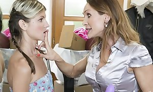 Strange inlaws – taboo ding-dong sexual connection be beneficial to poofter stepdaughter gina gerson