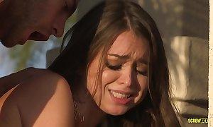 Riley reid squirts on stepbrother's hard sportswoman - screwbox