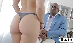 Powered remy lacroix anal interracial sex wide of large dark cockcial sex