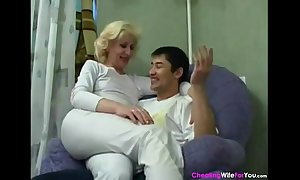 Horny russian Married slut cant reside relish in anal