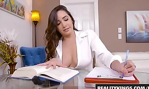 RealityKings - Broad in the beam Naturals - Topless Tutor capital funds Brannon Rhodes and Karlee Venerable