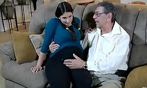 Logan can't live without her older man hd