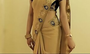 Sexy GIRL SAREE Enervating coupled with In the same manner will not hear of NAVEL coupled with Helter-skelter