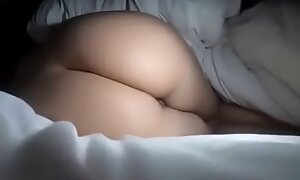spying on a sleeping bird who has a big ass