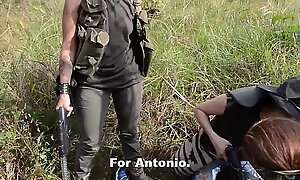 From starring role reporter captured and drilled by asinine Latina gang