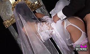 Randy bride receives a hard bonk