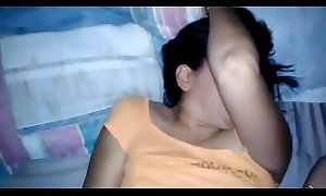 Desi indian wife's racy slit screwed with creampie n blowjob with groans