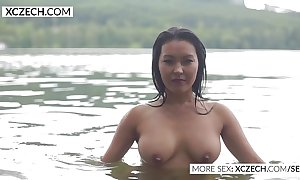 Lovely oriental gas main nymph horde erotic swimming - xczech.com
