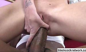 Shane diesel stretches little blondes pussy
