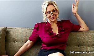 Order about festival tutor julia ann copulates herself!